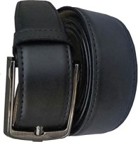 Generic Men Formal, Casual Black Artificial Leather Belt