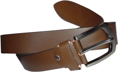 JD Designer Belt Men Formal Brown Genuine Leather Belt