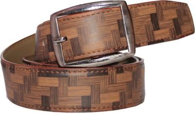 Assashion Boys, Men Brown Texas Leatherite Belt