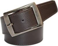 Winsome Deal Men Formal, Casual Brown Artificial Leather Belt best price on Flipkart @ Rs. 190