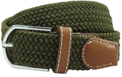 The Tie Hub Men Casual Green Synthetic Belt