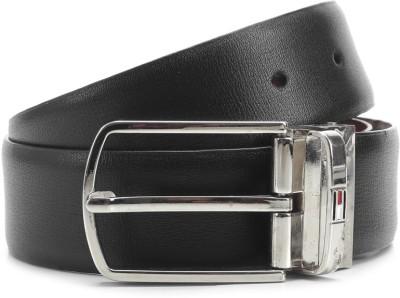 Tommy Hilfiger Men Brown, Black Metal Reversible Belt