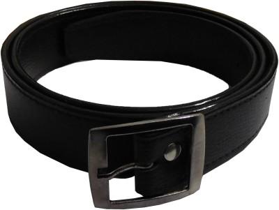 Samco Fas Boys, Men Black Artificial Leather Belt