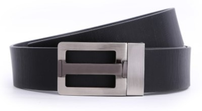 Fighter Men Casual Black Genuine Leather Belt