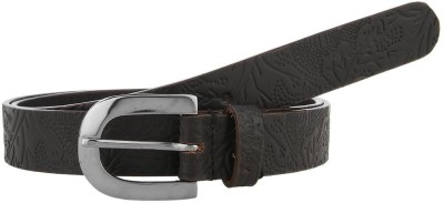 Aditi Wasan Women Casual Black Genuine Leather Belt
