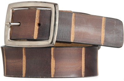 Goguava Men Casual, Party Brown Genuine Leather Belt