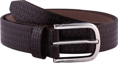 Orkee Men Party Brown Artificial Leather Belt