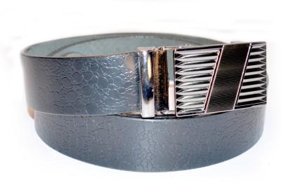 Ajanta Men Casual Black Genuine Leather Belt