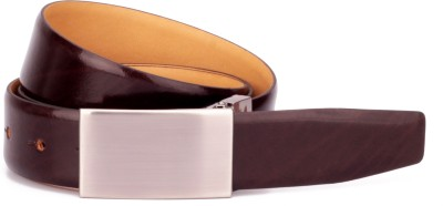 Ohm Leather Men Formal, Evening, Party, Casual Brown Genuine Leather Belt