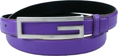 Contra Women Purple Artificial Leather Belt