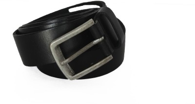 Vickiana Quest Boys, Men Casual, Formal Black Genuine Leather Belt