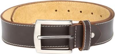 Roadster Men Casual Brown Genuine Leather Belt
