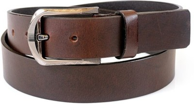 Thayla Men Brown Genuine Leather Belt