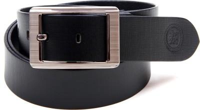 Harex Men, Boys Casual, Evening, Formal, Party Black Genuine Leather Belt