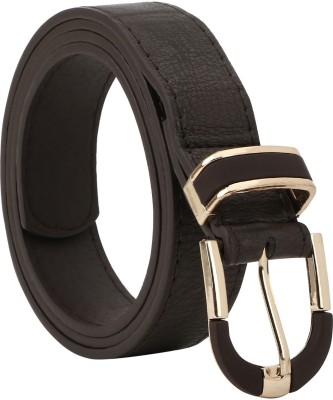 Freshka Women Casual Brown Artificial Leather Belt