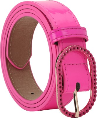 Freshka Women Casual Pink Artificial Leather Belt