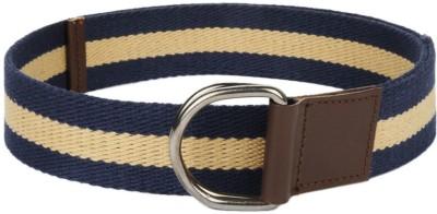 Frow Men Blue Canvas Belt