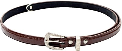 Kirli Women, Girls Brown Artificial Leather Belt