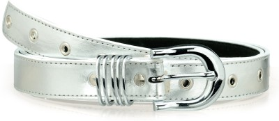 Allura Women Evening/Party, Casual, Semi-formal Silver Synthetic Belt