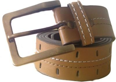 Renz Men Casual Brown Artificial Leather Belt