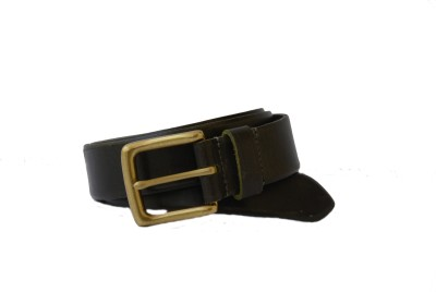 Vickiana Quest Boys, Men Casual, Formal Green Genuine Leather Belt