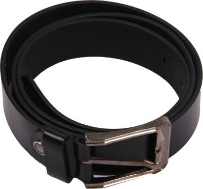 Bharat Fashion Boys, Men Black Genuine Leather Belt