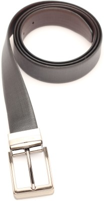SKSS Club Men Formal Black, Brown Genuine Leather Reversible Belt