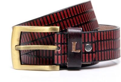Ligans Ny Men Formal, Casual Brown Genuine Leather Belt