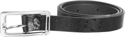 palito Women, Girls Black Genuine Leather Belt