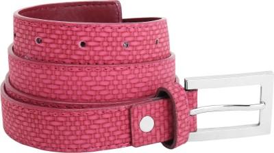 Aadaana Women Casual Red Artificial Leather Belt