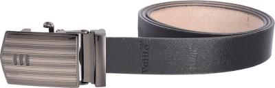 palito Boys, Men Black Genuine Leather Belt