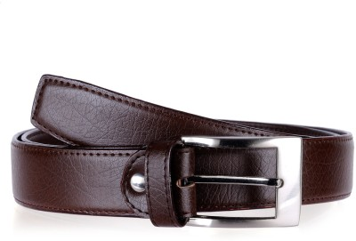 Allura Men Evening/Party, Casual, Semi-formal Brown Genuine Leather Belt