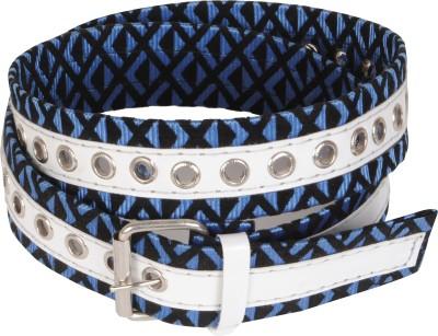 Bs Spy Women Casual Blue Fabric Belt