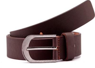Junckers Men, Boys Formal, Casual Brown Genuine Leather Belt