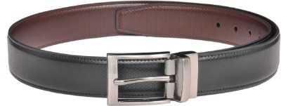 Saugat Traders Men Formal Black, Brown Artificial Leather Reversible Belt