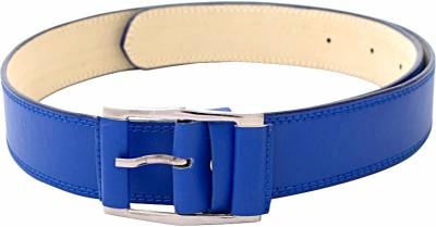 SkyWays Men Evening/Party, Casual Blue Artificial Leather Belt