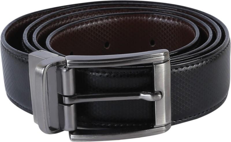 TIE & CUFFS Men Party, Formal Black, Brown Genuine Leather...