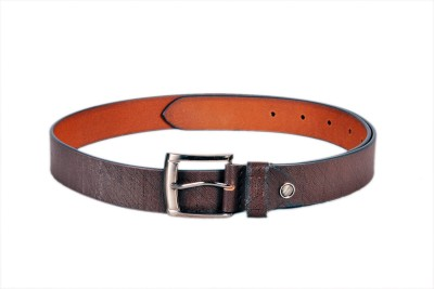 Ligans Ny Men Casual, Formal Brown Genuine Leather Belt