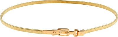 Aadi And Sons Women Casual Gold Metal Belt