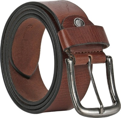 Starindia Men, Women Casual, Formal Brown Genuine Leather Belt