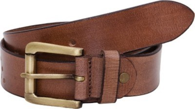 RK IMPORT Men Brown Genuine Leather Belt