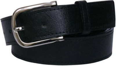 YOURS LUGGAGE Men, Boys Casual, Evening, Formal, Party Black Artificial Leather, Genuine Leather, Synthetic Belt