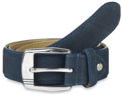 Paradigm Design Lab Men Casual Blue Genuine Leather Belt