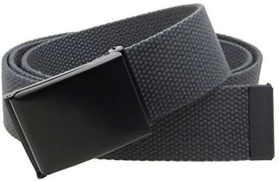 BC Belts Men Black Canvas Belt