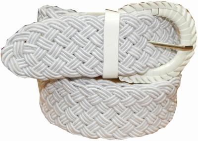 Ansari Girls Casual White Synthetic Belt