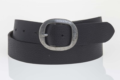 Tregus Women Casual Black Genuine Leather Belt
