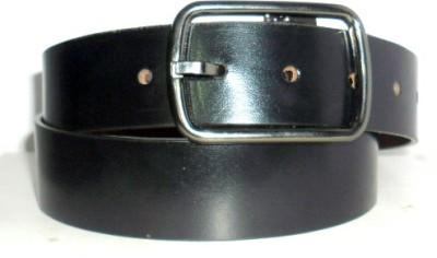 Troyfashion Men Tan Genuine Leather Belt