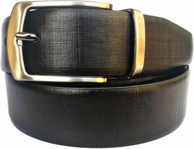 SGE Men, Boys Formal, Evening, Party Black, Brown Genuine Leather Reversible Belt