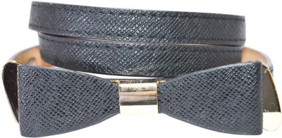 Hadwin Girls Party Black Artificial Leather Belt