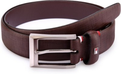 Ruchiworld Boys, Girls Formal Brown Genuine Leather Belt